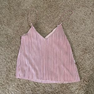 Champagne Pink Cami Tank Top